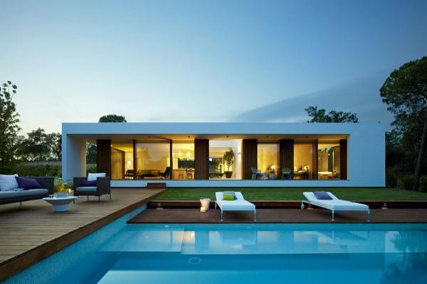 Dise o contempor neo y arquitectura eficiente en la casa for Architecture petite villa