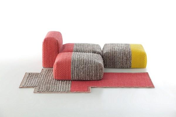 espacio mangas la colecci n de patricia urquiola para gan. Black Bedroom Furniture Sets. Home Design Ideas