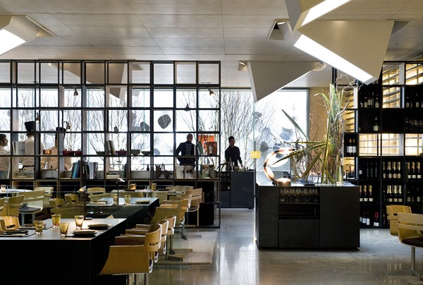Restaurante Moo del Hotel Omm en Barcelona