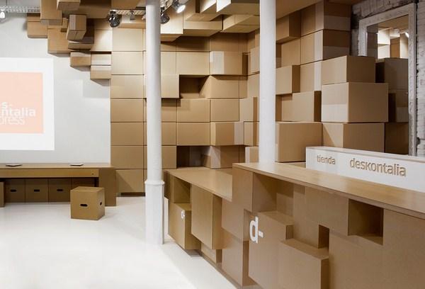 Deskontalia tienda de cajas de carton en san sebastian diariodesign
