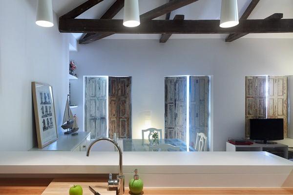 U a arquitectura redescubre un peque o apartamento para dos en vigo - Interiorismo vigo ...