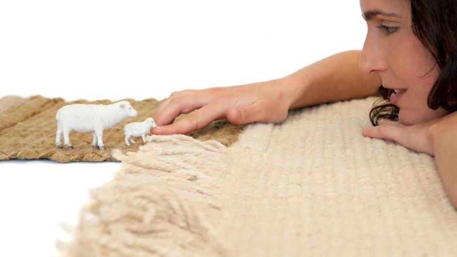 alfombra de lana balance