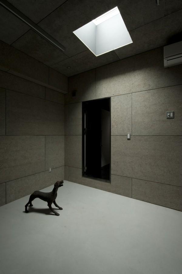 House Of Silence By Form Kouichi Kimura Architects: House Of Silence En Japón; Dramáticos Interiores Que Se