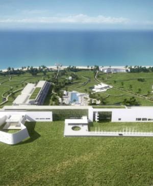Richard Meier en la Fondazione Bisazza apertura