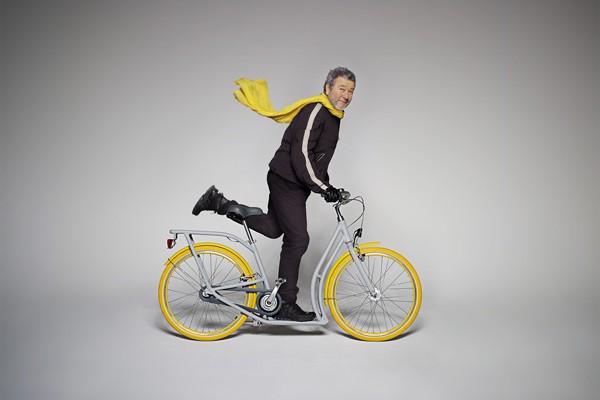bicicleta patinete Pibal de philippe starck diariodesign