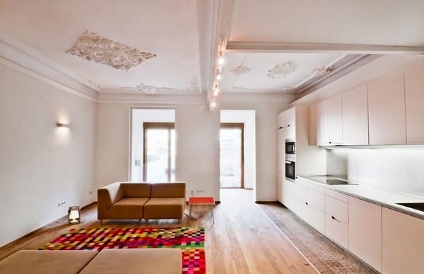 Anne sophie de vargas y adriana porta reforman una vivienda protegida en el eixample - Permiso obras piso barcelona ...