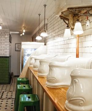 Attendant, underground 1890 Victorian Gentleman's Toilet convert