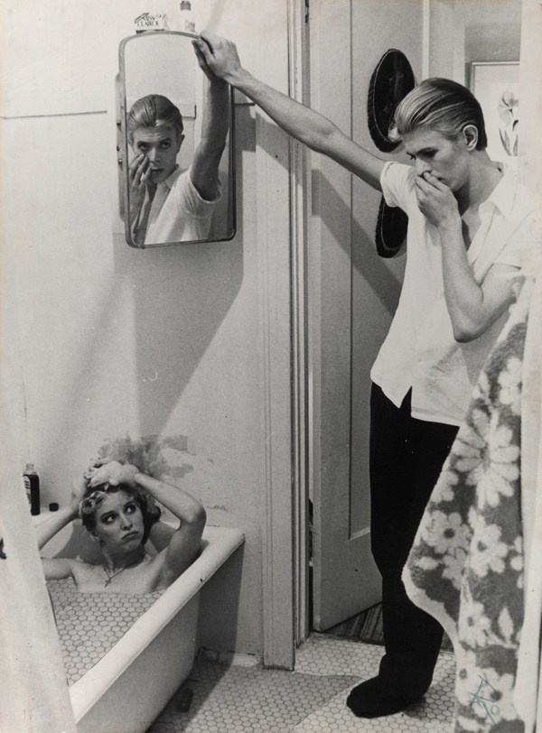 Foto collage para The Man Who Fell to Earth david bowie diariodesign