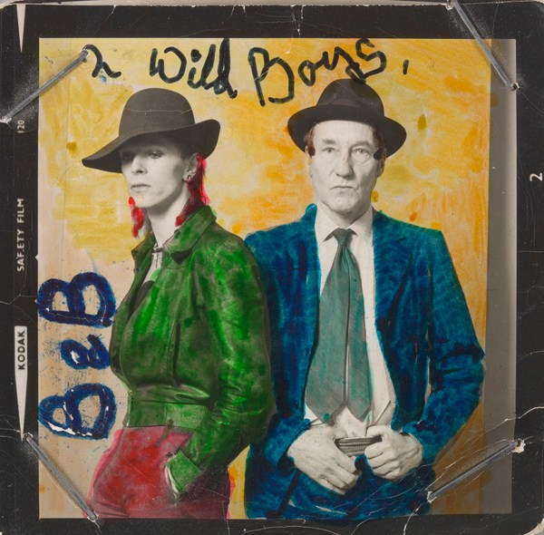 David Bowie y William Burroughs diariodesign