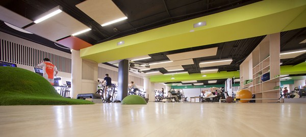 Reebok sports club teresa sapey recrea un entorno al aire libre en un gimnasio de madrid - Decoracion de gimnasios ...