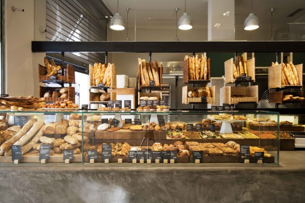 Sandra tarruella updates the concept of the traditional for Bakery shop decoration ideas