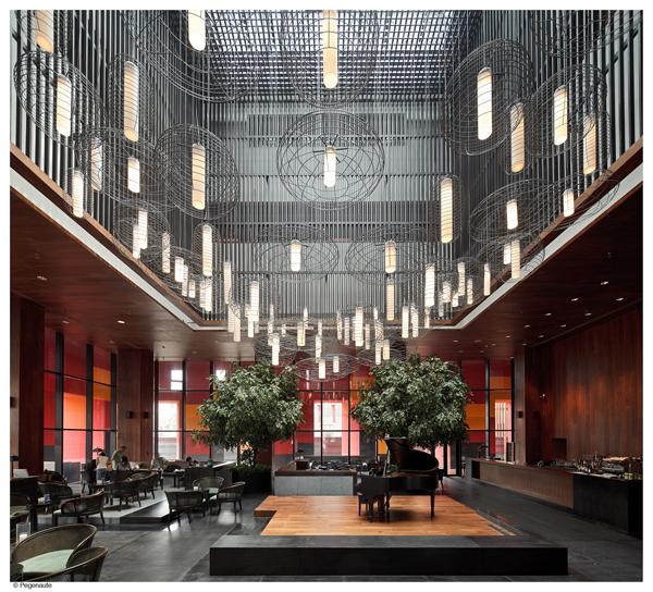 los reconocidos arquitectos neriuhu la tradicional china en el westin hotel de xiuan