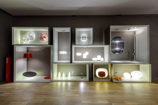 Foscarini aprovecha las semanas del dise o para inaugurar - Galeria comercial del mueble arganda ...