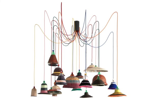 DELTA DE PLATA PET Lamp, diseñada y producida por Estudio Alvaro Catalán de Ocón diariodesign