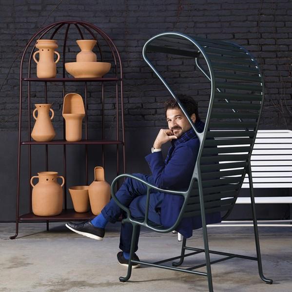 butacas Gardenias diseño de Hayon Studio para BD Barcelona diariodesign