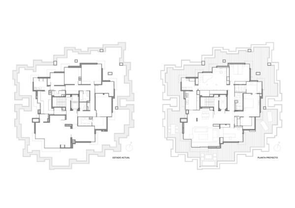 Reforma de un ático por Garcia Gasull Arquitectos y Sandra Tarruella diariodesign