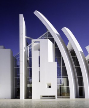 Richard Meier en la Fundación Bisazza Jubilee-Church-«Scott Frances