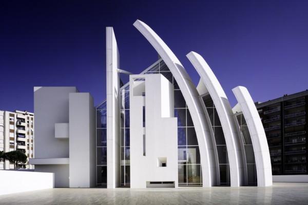 Medio Siglo De La Arquitectura De Richard Meier En La