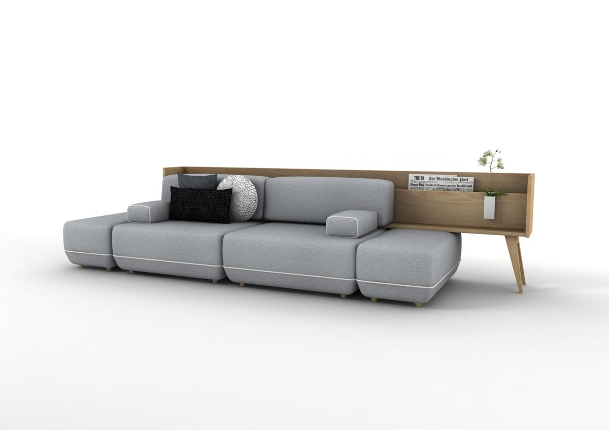 El proyecto 39 two be 39 de vitale gana el 18 concurso internacional de dise o industrial del mueble - Muebles diseno industrial ...
