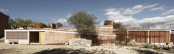 7- Espai Transmisor del Túmul/Dolmen megalític de Seró. Estudi d'arquitectura Toni Gironés