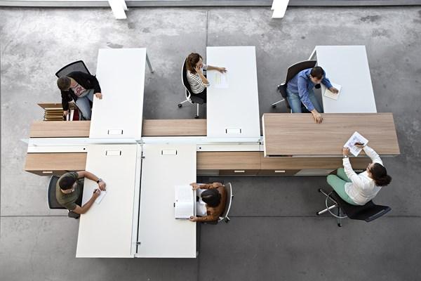 Programa de mobiliario spine de actiu o c mo van a ser for Programa de diseno de oficinas
