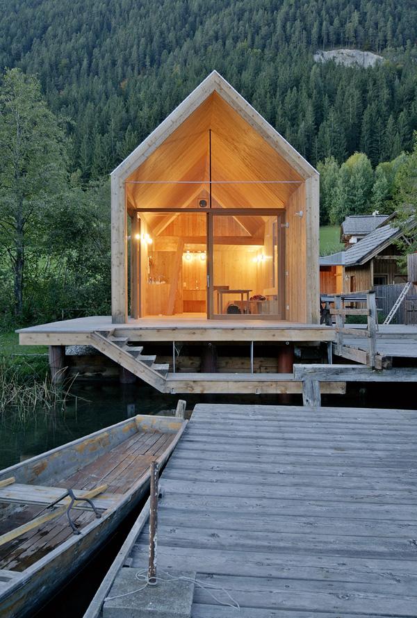 El arquitecto Peter Jungmann diseña un hotel-cabaña de ...