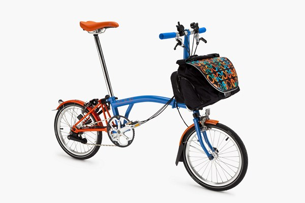 bicicleta Brompton City inspired barcelona diariodesign