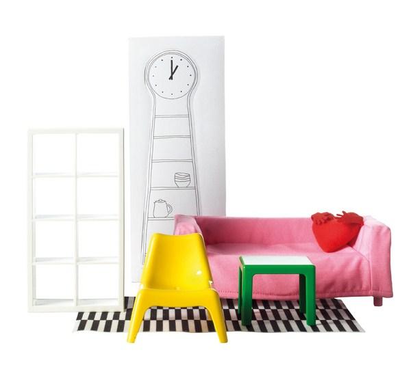 muebles en miniatura ikea huset diariodesign