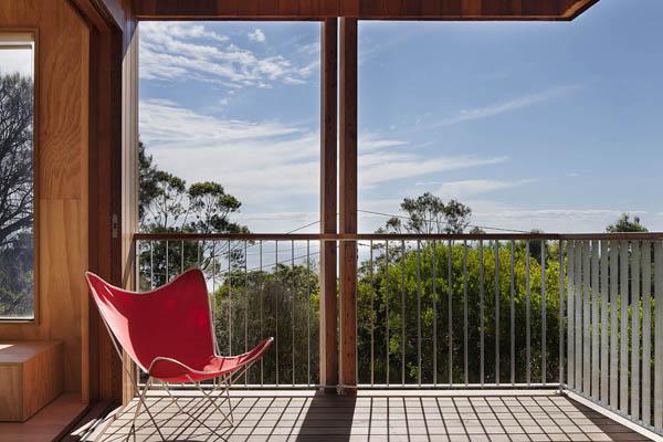 Clare Cousins Mornington choza playa australiana vista diariodesign