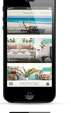 Westwing iPhone app