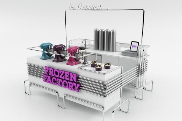 The fabulous frozen factory el nombre lo dice todo en - Diseno de interiores heladerias ...