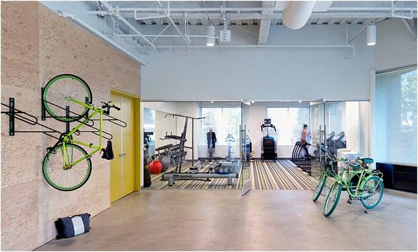 El cuartel general de evernote de o a dise o low cost para organizar la vida al modo de la - Cool home gym decorating ideas ...