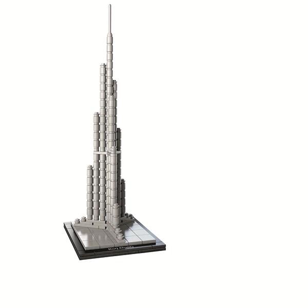 burj khalifa lego arquitectura