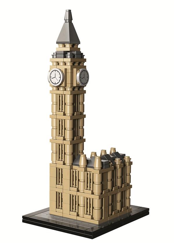 big ben lego arquitectura