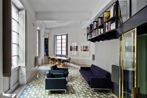 La increíble reforma de un apartamento en el Barrio Gótico de Barcelona, premio INSIDE al Interior del Año 2013.