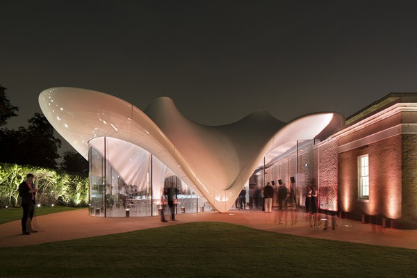 serpentine sackler gallery zaha hadid diariodesign