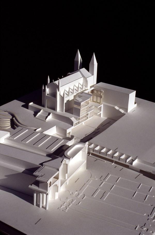 16 Maqueta de contexto_Ampliación del Museo del Prado, Madrid, España, 1998-2007__ Rafael Moneo. Cortesía Fundación Barrié