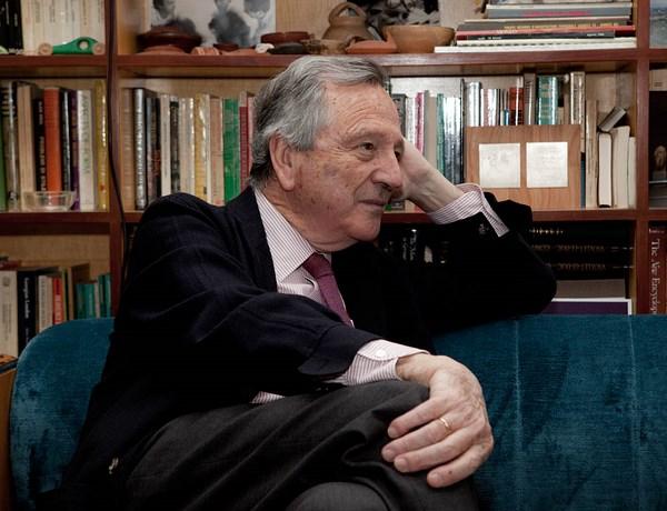 17. Retrato Rafael Moneo_Fotógrafo Miguel Guzmán__ Rafael Moneo _Cortesía Fundación Barrié