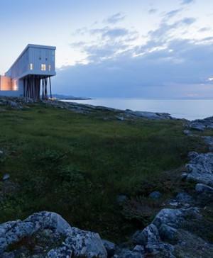 hotel Fogo Island Inn en Terranova canada diariodesign