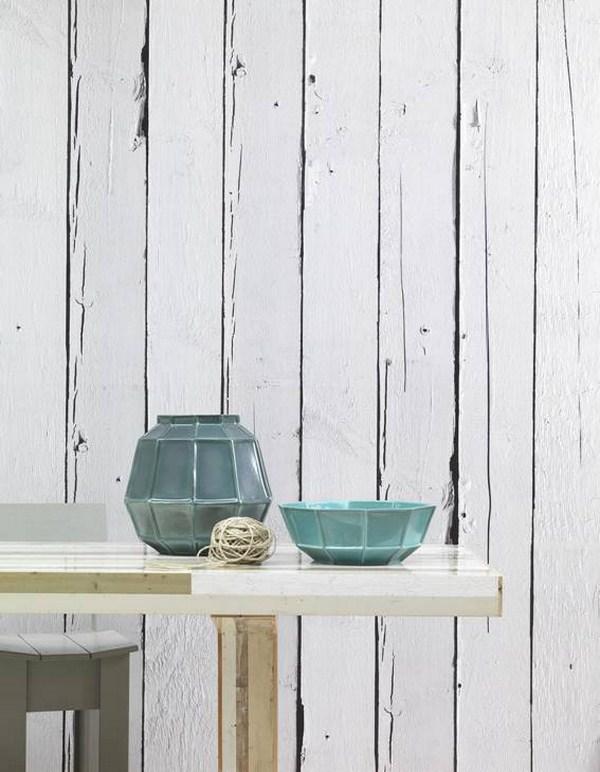 Piet hein eek se inspira en la madera reciclada para su for Papel pared madera