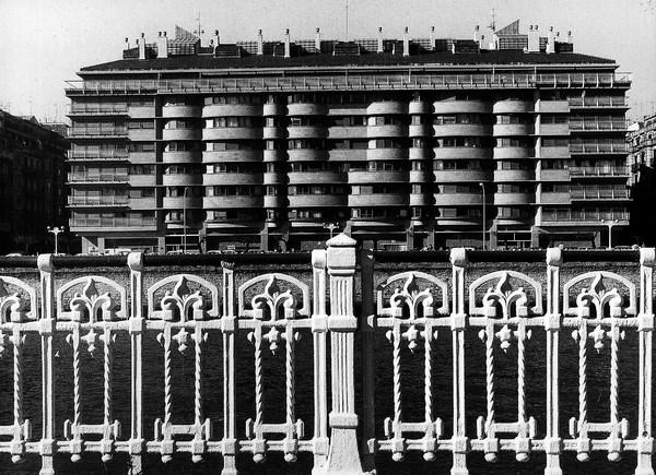 8 Edificio de viviendas.Urumea. San Sebastián, España, 1969-1973 _ Rafael Moneo_Cortesía Fundación Barrié