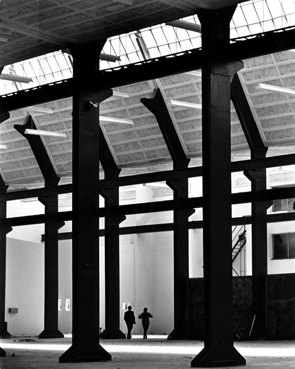 9 Fábrica de transformadores Diestre, Zaragoza, 1964_1967_Fotografía Maspons_Ubiña_ Rafael Moneo_Cortesía Fundación Barrié