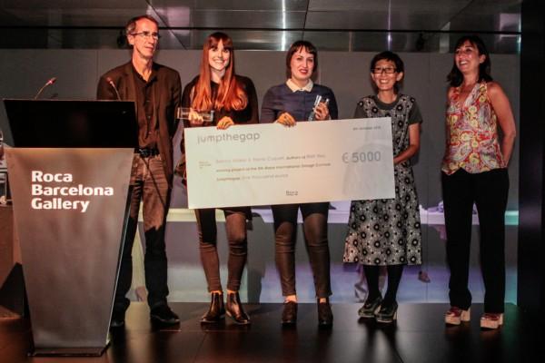 Entrega premios 5a ed. JTG_Josep Congost, Sanna Völker, Marta Cuquet, Ka...