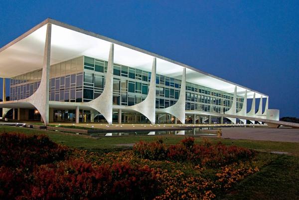 Brasilia, la capital del país, símbolo de modernidad arquitectónica.