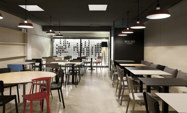 Malm by borja garc a a veggie restaurant with a nordic - Restaurante copenhagen valencia ...