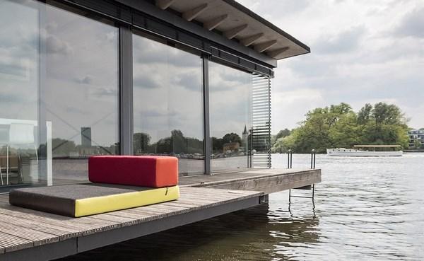 3 modern houseboat