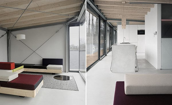 4 modern houseboat