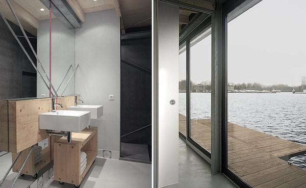6 modern houseboat
