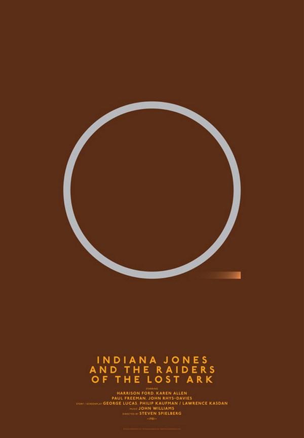 carteles de películas clasicos cine indiana jones diariodesign