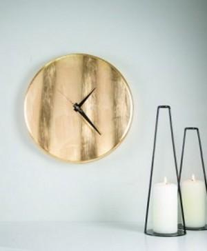 INGRIASHOP-Reloj Dorado